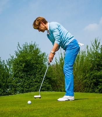 Golfprofessional Rita van Campen