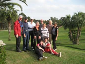 Golfreis Islantilla 4 – 11 maart 2011