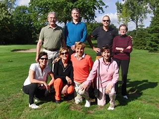 Verslag van een succesvol 3 daags golf programma 16-18 september in Crossmoor, Weert