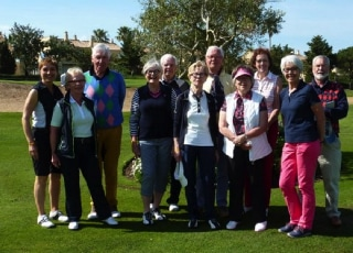 Golfreis Cádiz Spanje 2016