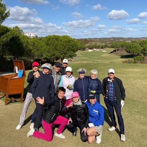 Golfen in Portugal met Rita van Campen